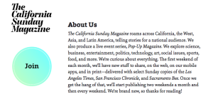 About California Sunday Magazine (screenshot via CaliforniaSunday.com)