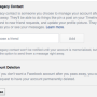 "Facebook users now can select a ""legacy contact"" to manage their page after they die..."